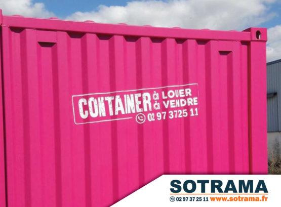 Container rose vendre louer acheter bungalow maison habitation