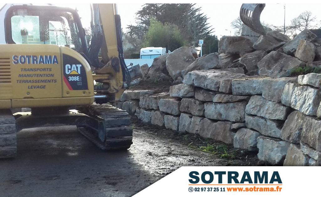 Engin chantier transport manutention terrassement levage chenilles