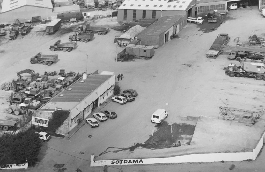 Sotrama archives histoire 1992 Lorient GUENAULT Loxam