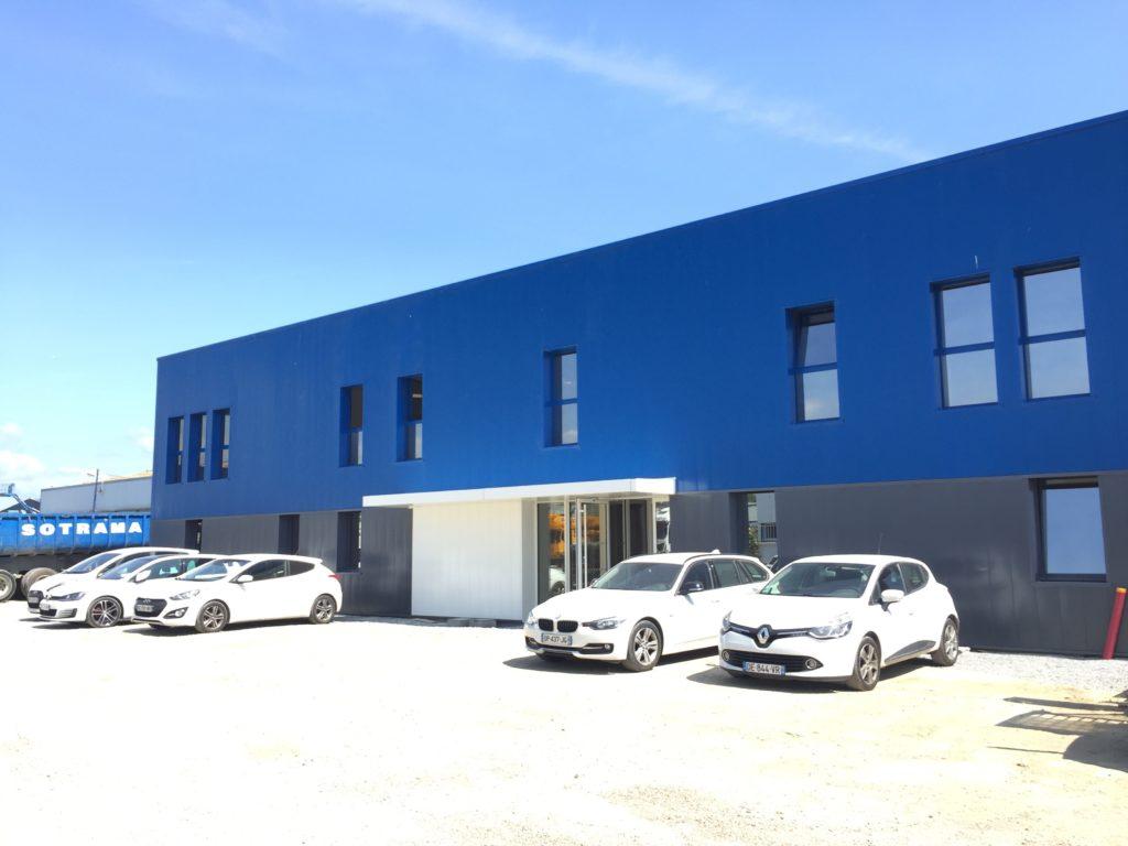 siège Sotrama Lorient levage, manutention, démolition, travaux publics, formation, location/vente matériel, déménagement industriel, transport et immobilier industriel