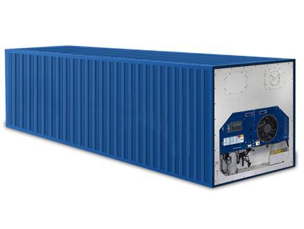 Le container reefer est capable de produire du froid