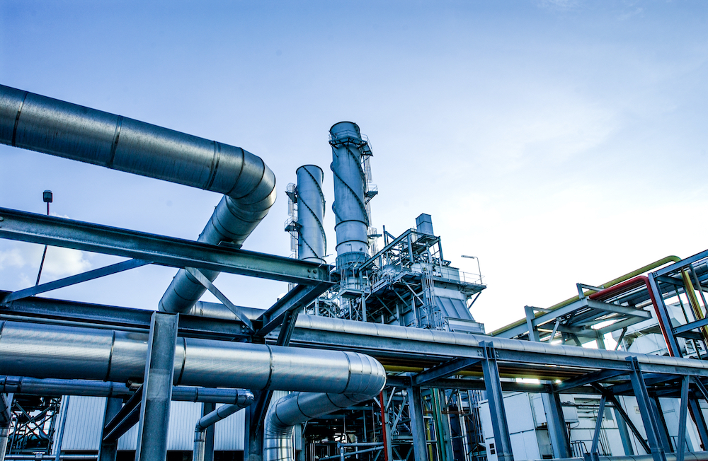 Usine tuyaux production matériel déménagement industriel