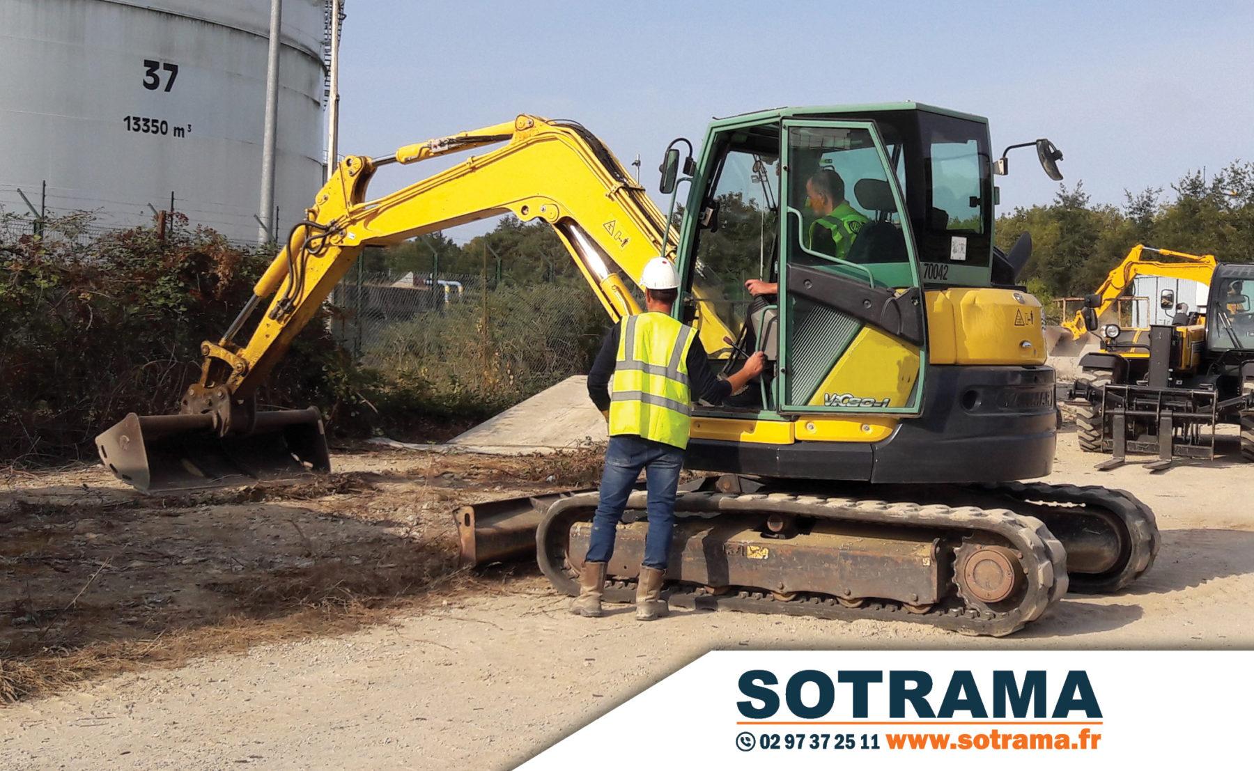 Engin chantier conducteur travaux publics formation professionnelle CACES