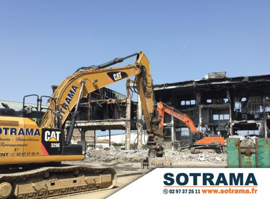 Engin chantier transport démolition terrassement formation professionnelle CPF