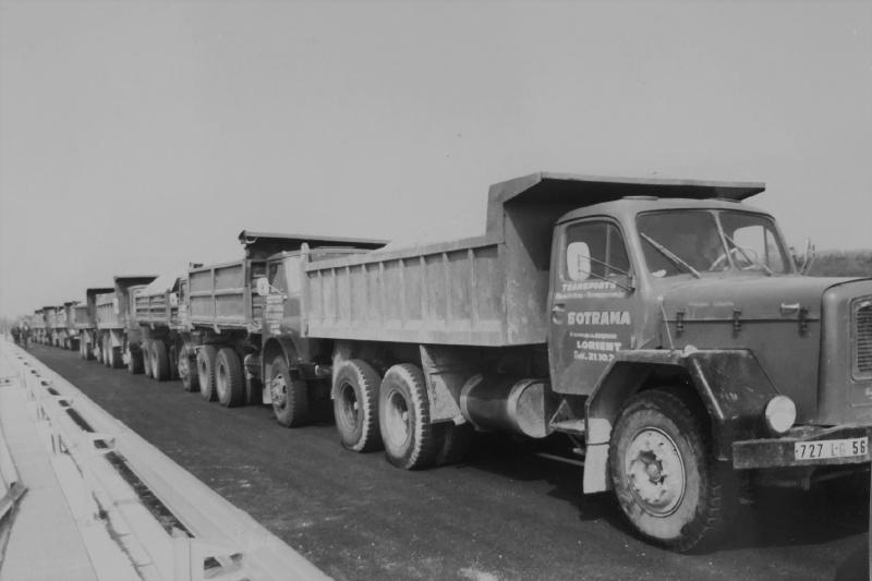 Camions Sotrama Lorient Bretagne histoire construction chantier