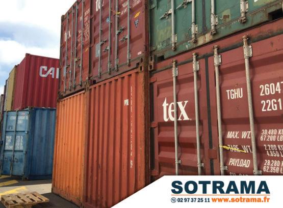 Container bungalow achat vente location stockage maison transport