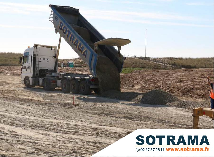 travaux terrassement chantier bretagne