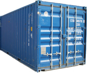 Container maritime 20 pieds stockage